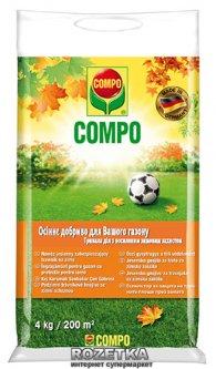 Удобрение Compo для газонов осеннее 4 кг (3170)