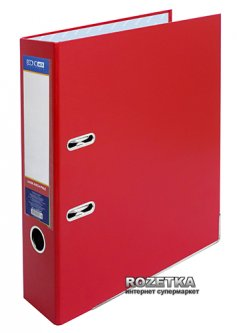 Папка-регистратор Economix А4 70 мм Красная (39721*-03)