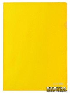 Набор папок-уголков Economix 10 шт А4 180 мкм Желтый (Е31153-05)