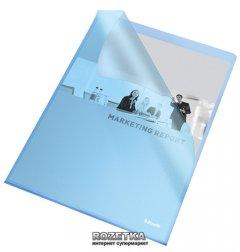 Папка-уголок Esselte А4 115 мкм 25 шт Синяя (60834)