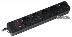 Сетевой фильтр Gembird SPG5-G-15B 4.5 м 5 розеток Black