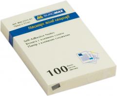 Набор бумаги для заметок с клейким слоем Buromax 51х76 мм 12 блоков по 100 листов Желтый (BM.2311-01)