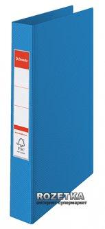 Папка-регистратор Esselte Standard А4 35 мм 2 кольца Синяя (14452)