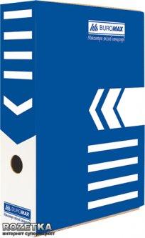 Набор архивных боксов Buromax для документов 80 мм Синий 5 шт (BM.3260-02)