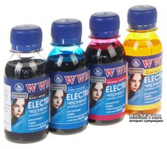Набор чернил WWM Electra для Epson 4x100 мл B/C/M/Y (ELECTR.SET42)