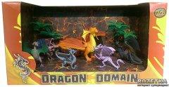 Игровой набор HGL Dragon Domain Волшебные драконы Серия B 6 шт (SV12185)