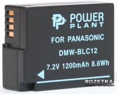 Aккумулятор PowerPlant для Panasonic DMW-BLC12, DMW-GH2 (DV00DV1297)