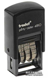 Минидатер Trodat 4810 3.8 мм Рус Черный корпус (4810 рос)