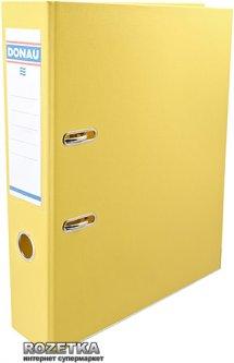 Папка-регистратор Donau Premium А4 70 мм Желтая (3975001PL-11)