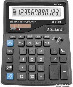 Калькулятор электронный Brilliant 12-разрядный (BS-888M)