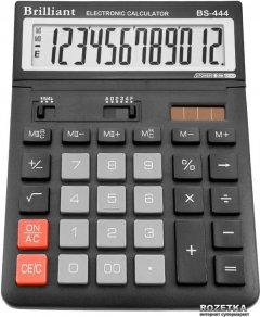 Калькулятор электронный Brilliant 12-разрядный (BS-444B)