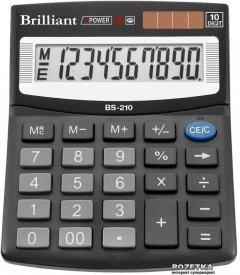 Калькулятор электронный Brilliant 10-разрядный (BS-210)