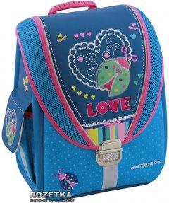 """Ранец школьный каркасный Cool For School Ladybug 710 трансформер 14"""" (85603)"""
