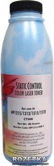 Тонер Static Control Components HPCLJ CP1515 40 г Cyan (HP1515-40B-C)