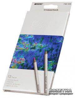 Карандаши цветные Marco Raffine 12 цветов (7100-12CB)