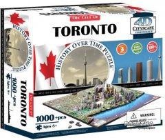 Объемный Пазл 4D Cityscape Торонто Канада 1000 элементов (40016)