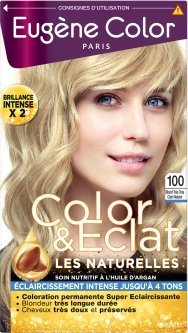 Краска для волос Eugene Perma Eugene Color Naturelles 115 мл № 100 Ультра Светлый Блондин Натуральный (3140102051009)