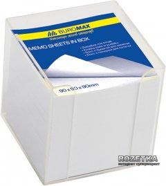 Пластиковый бокс с белой бумагой Buromax 1000 л Прозрачный (BM.2290-03)
