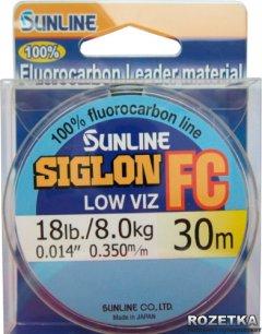 Леска Sunline SIG-FC 30 м 0.35 мм 8 кг Поводковая (16580181)