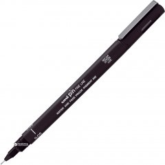Ручка лайнер Uni Pin Fine Linе Черная 0.05 мм (PIN005-200.Z.Black)
