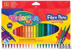 Фломастеры Colorino Fibre Pens 24 цвета 24 шт (14625PTR/1)