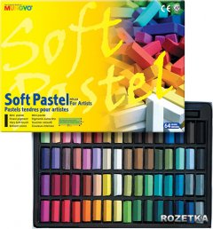 Пастель сухая MUNGYO MPS-64 1/2 мягкая 64 цветов (8804819006039)