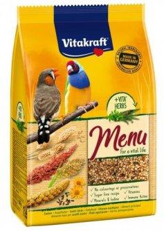 Повседневный корм для экзотических птиц Vitakraft Premium Menu Exotis 500 г (4008239213181)
