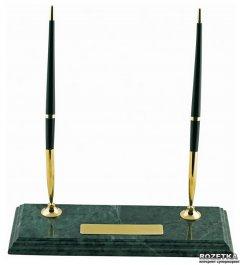 Подставка настольная Buromax для двух шариковых ручек (BM.6650)