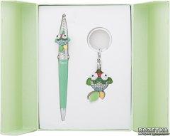 Набор подарочный (ручка шариковая + брелок) Langres Goldfish Зеленый (LS.122025-04)