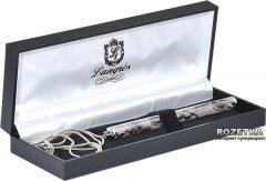 Ручка шариковая с цепочкой Langres Lace Белый корпус в подарочном футляре (LS.402027-12)