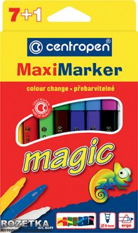 Набор фломастеров Centropen Magic Maxi 8 шт (8649/08)