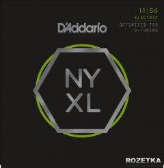 D'Addario NYXL1156 NYXL Medium Top / Extra-Heavy Bottom (11-56)