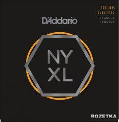 D'Addario NYXL1046BT NYXL Balanced Tension Regular Light (10-46)
