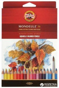 Карандаши цветные акварельные Koh-i-Noor Mondeluz 36 цветов (3719)