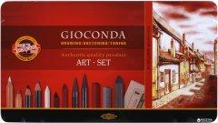 Художественный набор Koh-i-Noor Gioconda из 39 предметов (8891) (8593539057413)