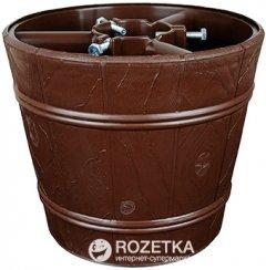 Стойка для елки Form-Plastic Ведро 25.5 см Коричневая (5907474317861)