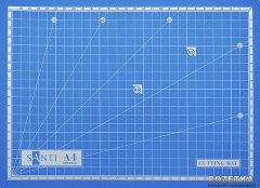 Коврик самовосстанавливающийся Santi для резки А4 (952425) (5009079524252)