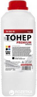 Тонер ColorWay HP LJ P1005/1102/1010/2035 Premium 1 кг (TH-U05-1B)