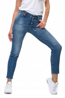 Джинси Object Boyfriend Medium Blue Denim 24-32 блакитний (12124630)