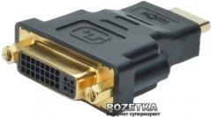 Адаптер Digitus HDMI-DVI-I (AK-330505-000-S)