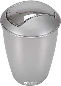 Ведро для мусора Spirella Atlanta 30x19 см Серебристое (10.04265)