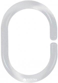 Кольца для шторки Spirella C-Minor 12 шт Прозрачные (10.40076)