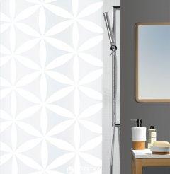 Шторка для ванной Spirella Rania 180x200 Polyester Белая (10.10418)