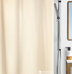 Шторка для ванной Spirella Ricco 180x200 Polyester Шампань (10.43815)