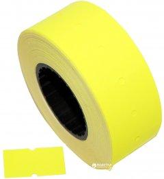 Этикет-лента Aurika 21х12 мм 1000 этикеток прямоугольная 30 шт Yellow (2112Y)