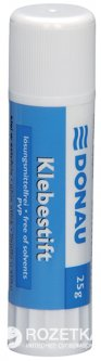Клей-карандаш Donau PVP основа 25 г (6604001PL-09)