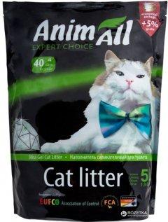 Наполнитель для кошачьего туалета AnimAll Зеленый изумруд Силикагелевый впитывающий 2.2 кг (5 л) (2000981045388)