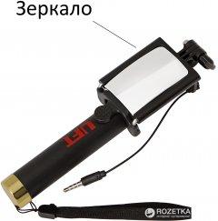 Селфи-монопод UFT SS11 с кабелем и зеркалом Gold