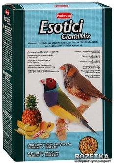 Повседневный корм для экзотических птиц Padovan GrandMix Esotici 400 г (PP00277)