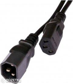 Кабель питания Atcom IEC C13-C14 1.8 м Black (10118)
